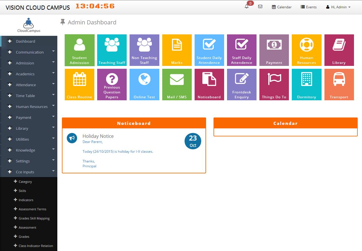 web based student management system pdf