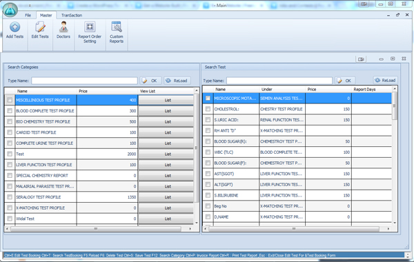 Medical Laboratory Management System