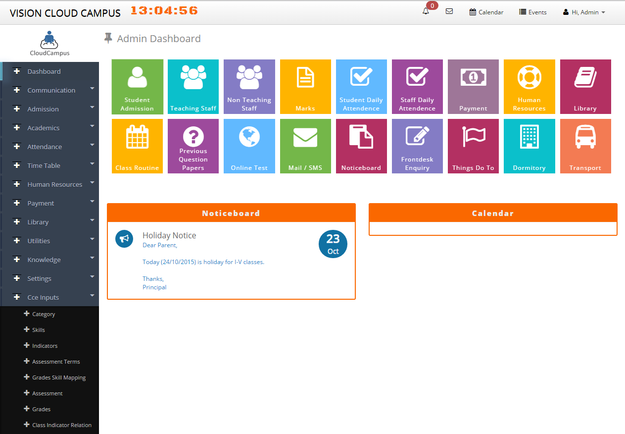 School Management System Web Based Software
